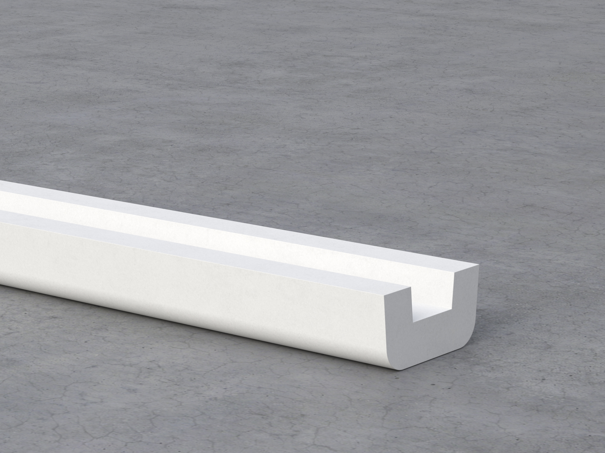 U-plaster fire-resistant accessory for passive fire protection